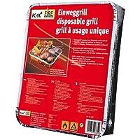 2 Packungen Einweggrills mit 450 g Holzkohle und Anzündpapier/ Picknick / Grill / Instant Picknickgrill Art. 365