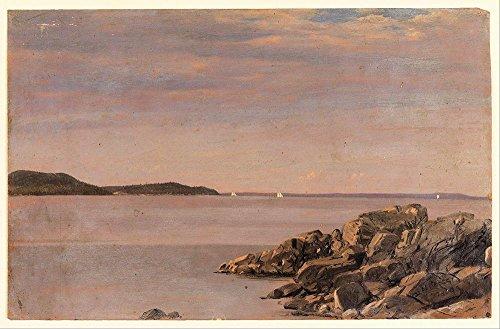 Das Museum Outlet-Kirche-MT DESERT ISLAND Maine-Leinwand Print Online kaufen (76,2x 101,6cm)