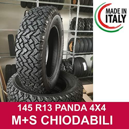 Pneumatici ricostruiti 145 R13 79T (M+S) per Vecchia Panda 4X4 (Disegno Tipo PIRELLI)