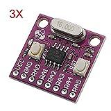Scheda di sviluppo per microcontrollori 3Pcs CJMCU-508 PIC12F508 LaDicha