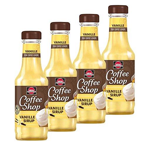 4x Schwartau Kaffeesirup Vanille ( 200ml ),auch für Senseo