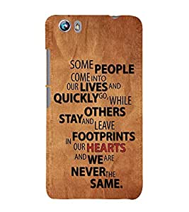 PrintVisa Designer Back Case Cover for Micromax Canvas Fire 4 A107 (Importance Of People)