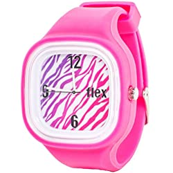 Flexwatches Zebra Pink