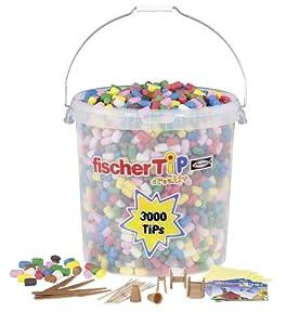 Fischer Tip - Cubo de 300 Tips de Espuma (Fischertechnik)