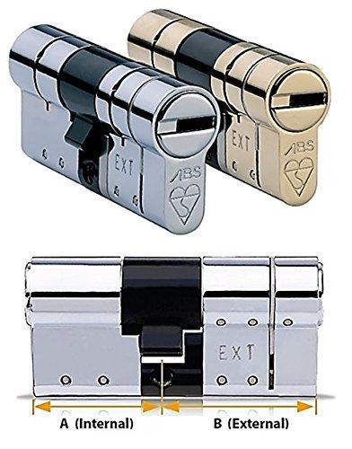 Avocet ABS TS0073Star Hochsicherheits-Eurozylinderschloss, Anti-Schnapp-Schloss