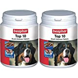 Beaphar Top 10 Dog 60's Supplement, 68 G (Pack Of 2)