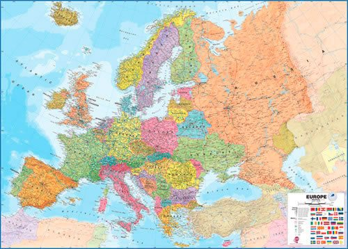 large-europe-wall-map-political-paper