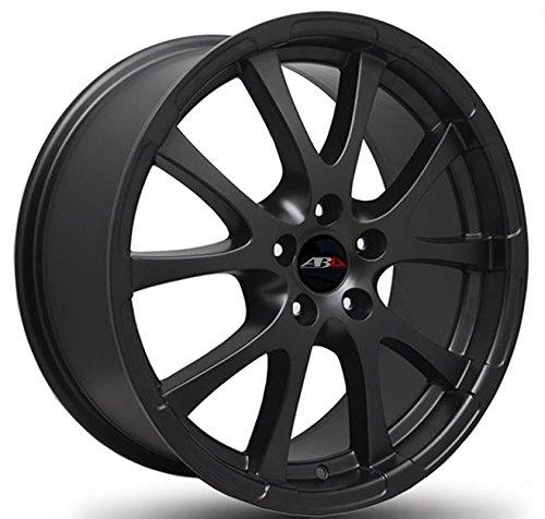 Abu Wheels ABU18x 18ET35LK 5x 112Negro 18pulgadas aluminio Llantas Audi Seat Skoda VW lm Rueda - 18 Pollici Nero Ruote Cerchioni