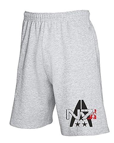 Cotton Island - Pantalons de survetement courts TGAM0054 N7 Systems Alliance, Taille XXL