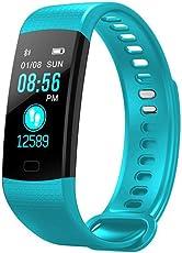 Leegoal, Fitness Tracker - Orologio con monitoraggio di attività fisica, con cardiofrequenzimetro, impermeabile IP67, con contapassi, pedometro, monitoraggio del sonno, per Android e iOS, per uomo, donna e bambini
