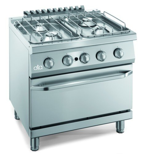 Küche Kochfeld Gas Boden 4Brenner Ofen cm 80x 70x 85rs3618