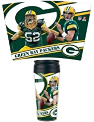 WinCraft NFL GREEN BAY PACKERS Contour Travel Mug
