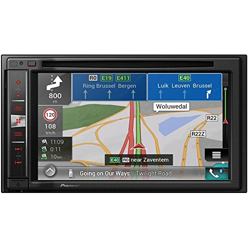 Pioneer AVIC-F980BT Naviceiver | 6,2 Zoll High Quality Multimedia Autoradio mit Navigation | 2DIN | Bluetooth Freisprechfunktion | RDS-TMC | Touchscreen | CD DVD Player | Rückfahrkamera | USB/AUX | Apple CarPlay | MP3