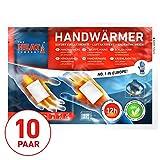 The HEAT company Handwärmer Wärmekissen 12 Std. Wärmedauer 10 Paar