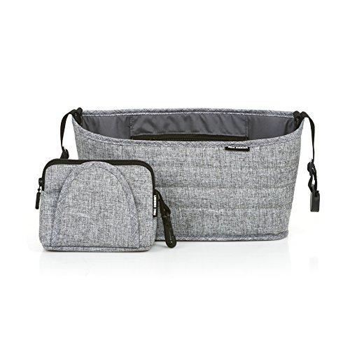 ABC Design 91301701Organizer Graphite-Handtasche Haltegriff, grau