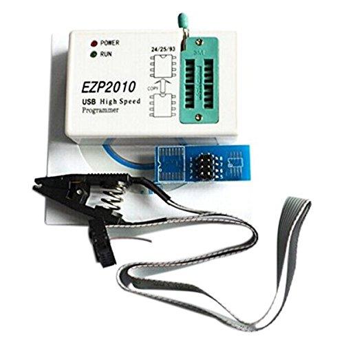 Nrpfell EZP2010 Hochgeschwindigkeit USB SPI Programmierer support24 25 93 EEPROM 25 Flash-BIOS-Chip + SOIC8 SOP8 Test Clip