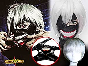 outil de Cosplay Tokyo ? ? Tokyo Ghoul Kanagi Ken style masque cache-œil avec un masque de cosplay héros Kamen [PRODUCTION Master Mind] MMP001