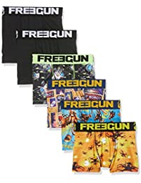 Freegun X6, Boxer Garçon, (lot de 6)