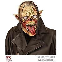 Maschera completa Vampiro Zombie con Capelli / Maschera Zombie /