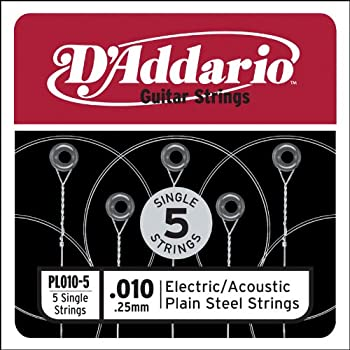 5 pack of electric guitar strings 009 gauge top e 1st single 9s musical. Black Bedroom Furniture Sets. Home Design Ideas