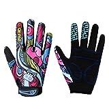perfk Winter Fahrradhandschuhe Winddichte Voller Finger Handschuhe Radfahren Anti-Rutsch Handschuhe