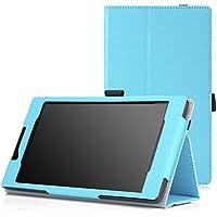 "MoKo BC19485 7"" Folio Azul funda para tablet - Fundas para tablets (Folio, Lenovo, Tab 2 A7-30, 17,8 cm (7""), Azul)"