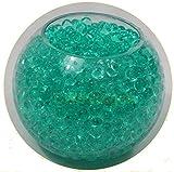 10 Packs Teal Gel Soil Water Beads Bio Gel Aqua Gel Crystals Jelly Crystal Wedding Vase Decoration