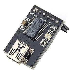 Foxnovo FTDI USB-TTL du Breakout base ASP 6 broches 3.3 5V pour Arduino MWC MultiWii Lite SE