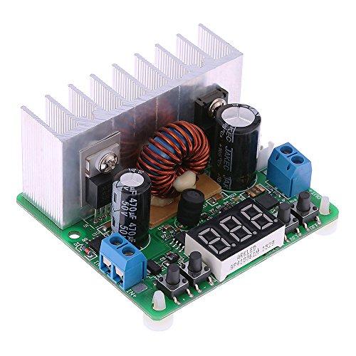 Preisvergleich Produktbild KKmoon Digital programmierbare DC / DC verstellbaren Step-Down Modul Konstantspannung aktuelle Eingabe 6-40V Stromversorgung 0-38V