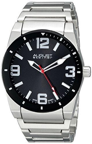 August steiner Herren-Armbanduhr Analog Quarz AS8152SSB