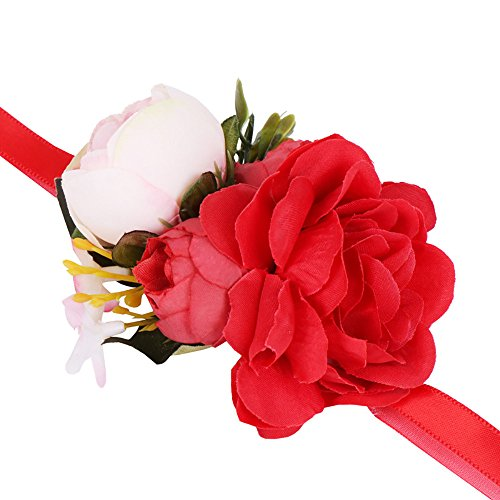 UINGKID Damen-Armband Charm Kreative Stilvolle Romantische Simulation Rose Bracelet Flower Wedding Supplies