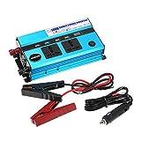 KKmoon 500W Auto Inverter di Potenza DC 12V a AC 220V 50Hz con 4 USB Porte / Display di Tensione