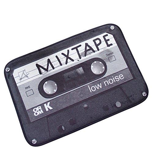 LLQ Vintage cinta de casete felpudo para interior exterior alfombrilla