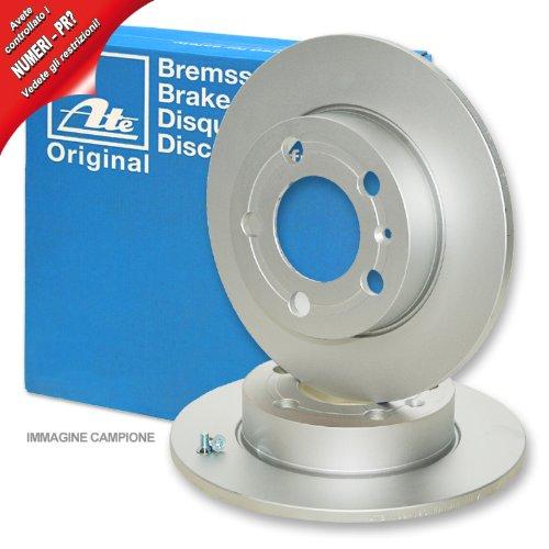 DF4271 2x Bremsscheibe Bremse TRW