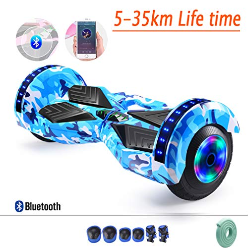 "W-star 8"" Hoverboard,Kinder Sicherheitsmodus & App - Bluetooth Lautsprecher,Starker Dual Motor,LED Elektro Skateboard Self Balance Scooter,Ausdauer 5-35Km,Selbstausgleichendes Auto Für Erwachsene,I"