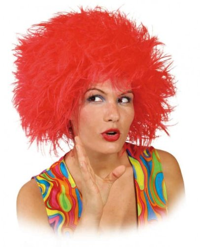 Womans Wig Struwel (Perücke) (Pink Lady Kostüm Haar)