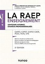 La Raep enseignement - CAPES, CAPET, CAPLP, CAER, PCEA, PLPA, CPE de Sylvie Beyssade