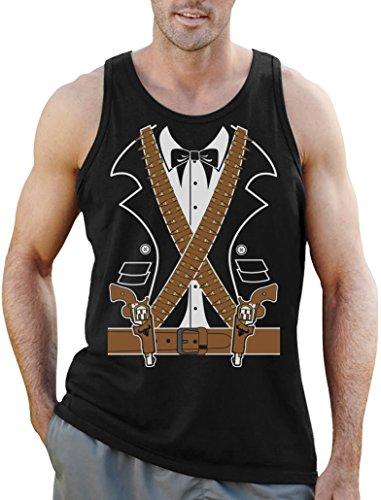 Kostüm Mexikanischer Ganove Mariachi Pistolen Tank Top XX-Large (Mariachi Outfits)