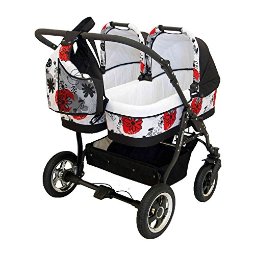 Zwillingskinderwagen Freestyle Twins 2in - 4