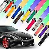 Auto-Dress Rallye Drift Schlaufe - Rennsport/Motorsport Abschlepptau Tau - Racing Hook Tow Strap - Abschleppschlaufe Schlaufe in verschiedenen Farben! (Blau)