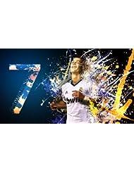 Real Madrid-Cristiano Ronaldo- Football Poster brillant Format A1 83,8 x 61 cm