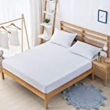 ZMLI Waterproof Bed 笠 Single Bed Cover Bed Cover Brown Mat Simmons Mattress