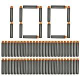 NextX 100 Dardi Universili di Schiuma – Munizioni a Freccette Compatibili con Tutte le Pistole Giocattolo Nerf, come Nerf N-Strike Elite Series Retaliator Blasters Etc. (Nero) immagine