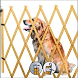 Spetebo Treppenschutzgitter ausziehbar bis 108cm - Höhe ca. 85 cm - Hundegitter Hundeabsperrgitter