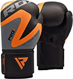 RDX Boxhandschuhe Muay Thai Boxsack Kickboxen Training Sparring Sandsack Maya Hide Leder Boxing Gloves -