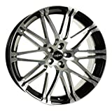 OXIGIN 14 Oxrock black full polish 9,5x19 ET45 5.00x112.00 Hub Bore 72.60 mm - Alu felgen