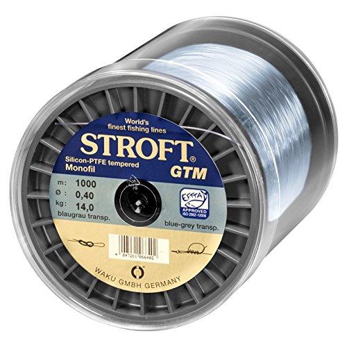 WAKU Schnur STROFT GTM Monofile 1000m, 0,220mm-5,1kg