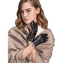 Guanti femminili in pelle australiana d'inverno/Guanti touch/guandi di pelle vera /guanti in pelle di (Australiano Moto)