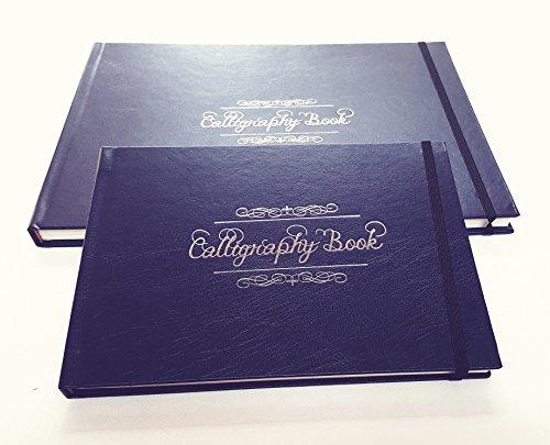 Lettering - Libro encuadernado para practicar caligrafía (A5)