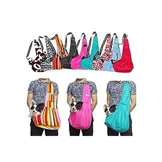 Qiao Niuniu Oxford Cloth Sling Pet Dog Carrier Tote Single Shoulder Bag Any Color (color: Black,size: M) 51F8EMfNM0L